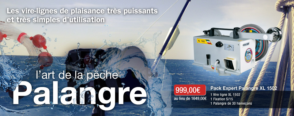 Pack XL 1502 pour le Palangre Kristal Fishing